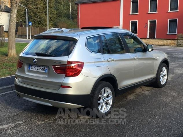 BMW X3 EXCLUSIVE xDrive20dA 184 GRIS Occasion - 4