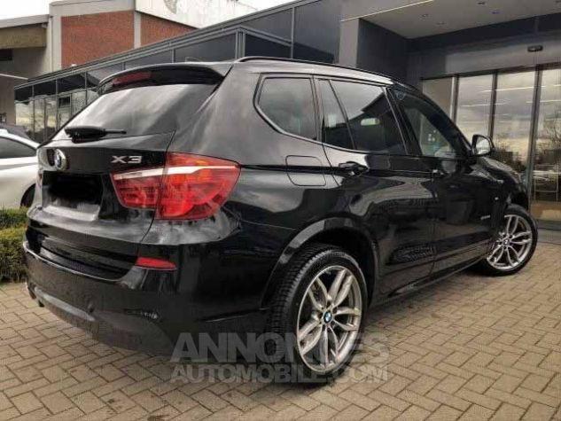 BMW X3 F25 XDRIVE30DA 258CH M SPORT NOIR Occasion - 2