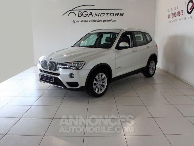 BMW X3 (F25) XDRIVE35DA 313CH LOUNGE PLUS Blanc Occasion - 0