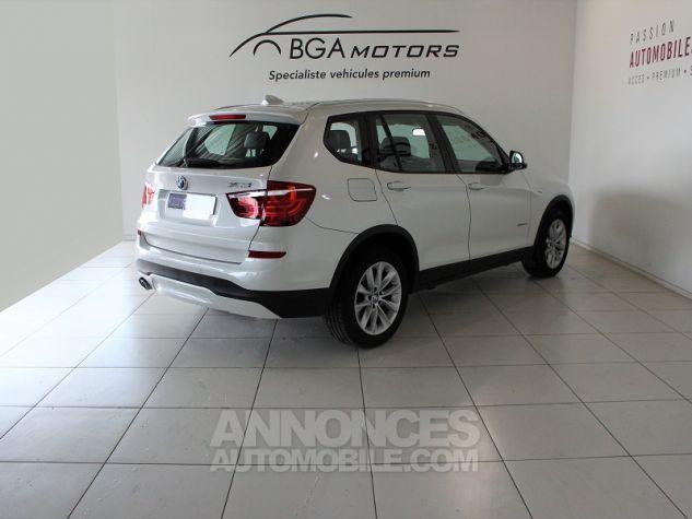 BMW X3 (F25) XDRIVE35DA 313CH LOUNGE PLUS Blanc Occasion - 1