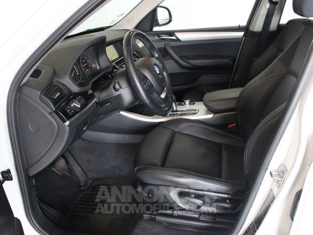 BMW X3 (F25) XDRIVE35DA 313CH LOUNGE PLUS Blanc Occasion - 2