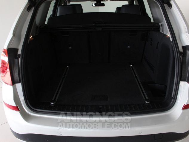 BMW X3 (F25) XDRIVE35DA 313CH LOUNGE PLUS Blanc Occasion - 12