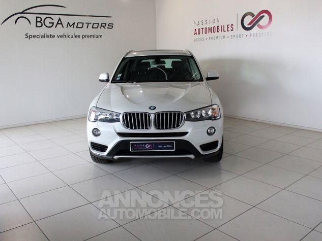 BMW X3 (F25) XDRIVE35DA 313CH LOUNGE PLUS Blanc Occasion - 13