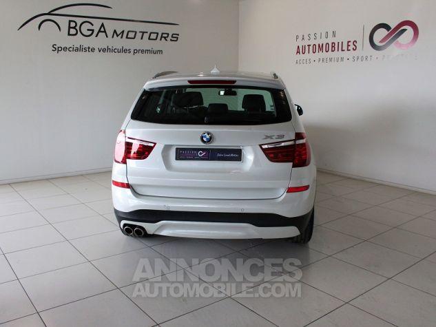 BMW X3 (F25) XDRIVE35DA 313CH LOUNGE PLUS Blanc Occasion - 14