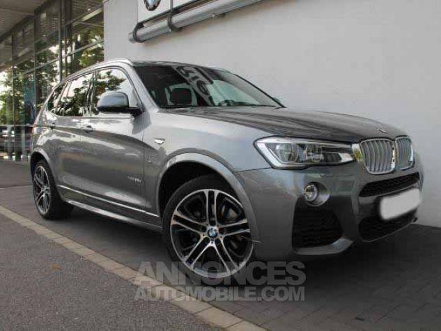 BMW X3 F25 XDRIVE35DA 313CH M SPORT GRIS  SPACEGRAU Occasion - 0