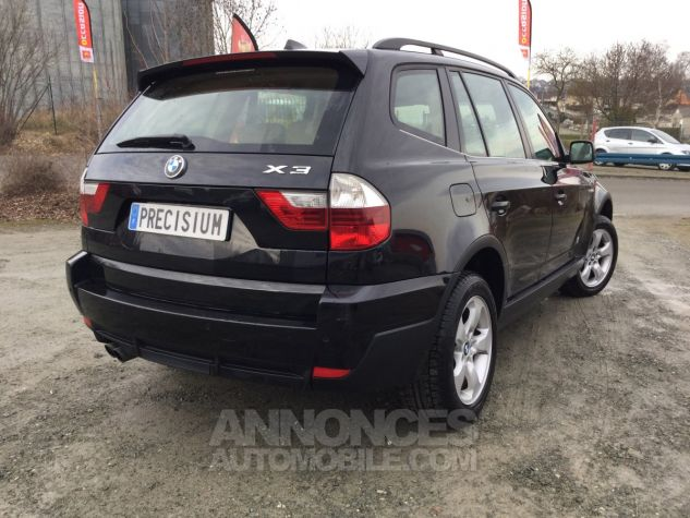 BMW X3 Pack Luxe Noir Occasion - 4
