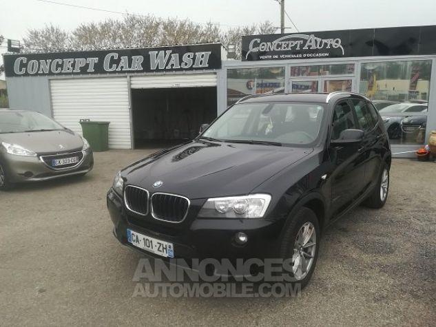 BMW X3 PROFESSIONNEL NOIR METAL Occasion - 1