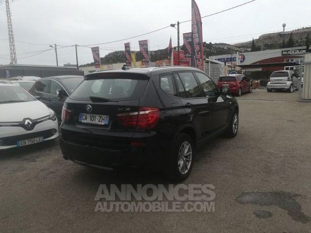 BMW X3 PROFESSIONNEL NOIR METAL Occasion - 2