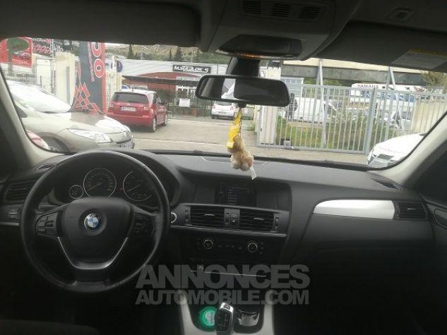 BMW X3 PROFESSIONNEL NOIR METAL Occasion - 3