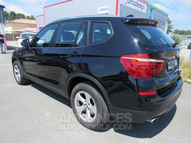 BMW X3 sDrive18d 150ch Lounge NOIR Occasion - 1