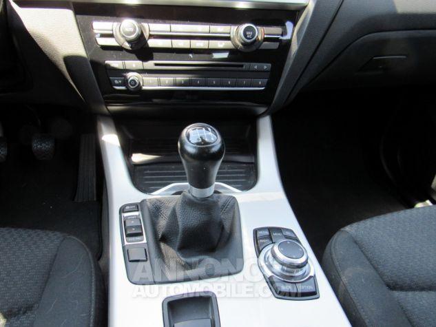 BMW X3 sDrive18d 150ch Lounge NOIR Occasion - 9