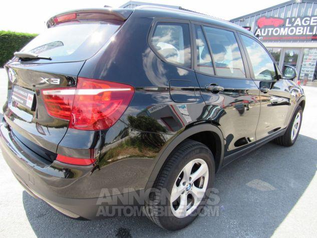 BMW X3 sDrive18d 150ch Lounge NOIR Occasion - 8