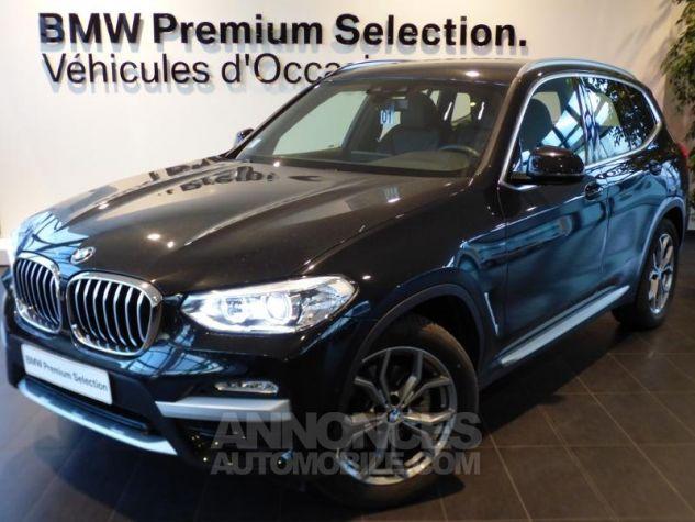 BMW X3 sDrive18dA 150ch xLine Euro6c Saphirschwarz metallise Occasion - 0