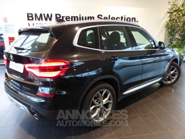 BMW X3 sDrive18dA 150ch xLine Euro6c Saphirschwarz metallise Occasion - 1
