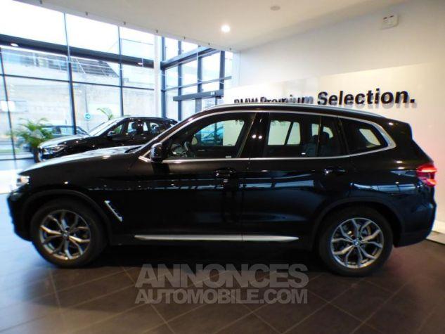 BMW X3 sDrive18dA 150ch xLine Euro6c Saphirschwarz metallise Occasion - 2