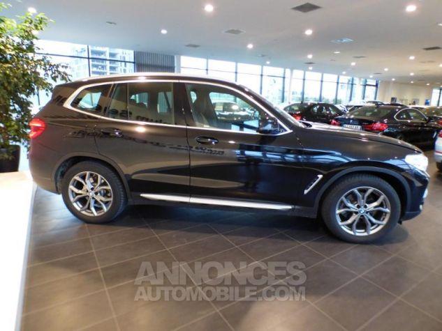 BMW X3 sDrive18dA 150ch xLine Euro6c Saphirschwarz metallise Occasion - 3