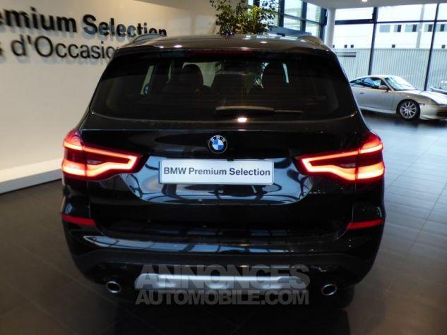 BMW X3 sDrive18dA 150ch xLine Euro6c Saphirschwarz metallise Occasion - 4