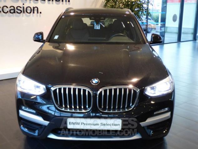 BMW X3 sDrive18dA 150ch xLine Euro6c Saphirschwarz metallise Occasion - 5