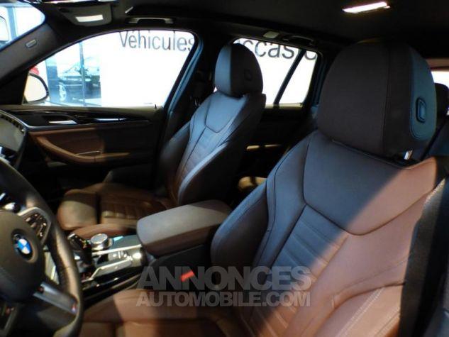 BMW X3 sDrive18dA 150ch xLine Euro6c Saphirschwarz metallise Occasion - 9