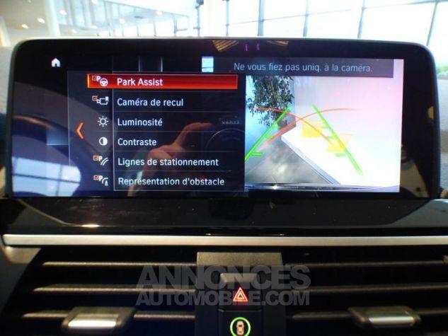 BMW X3 sDrive18dA 150ch xLine Euro6c Saphirschwarz metallise Occasion - 12