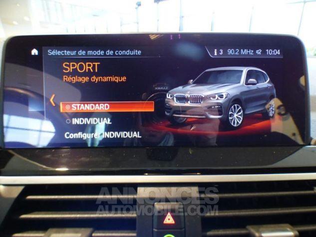 BMW X3 sDrive18dA 150ch xLine Euro6c Saphirschwarz metallise Occasion - 16