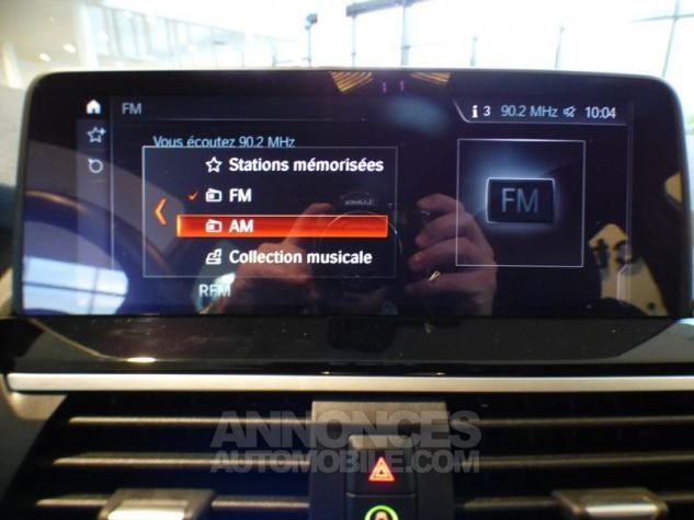 BMW X3 sDrive18dA 150ch xLine Euro6c Saphirschwarz metallise Occasion - 18