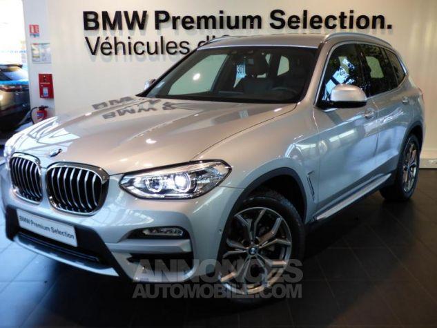 BMW X3 sDrive18dA 150ch xLine Euro6c GLACIER SILBER Occasion - 0