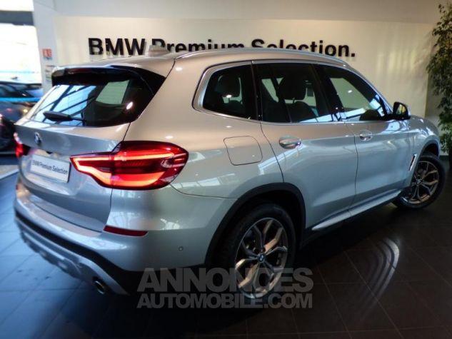 BMW X3 sDrive18dA 150ch xLine Euro6c GLACIER SILBER Occasion - 1