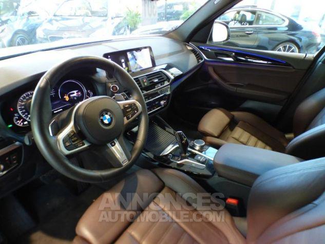 BMW X3 sDrive18dA 150ch xLine Euro6c GLACIER SILBER Occasion - 9