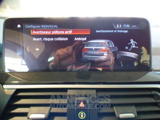 BMW X3 sDrive18dA 150ch xLine Euro6c GLACIER SILBER Occasion - 14