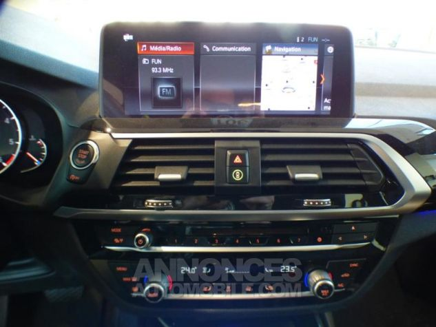 BMW X3 sDrive18dA 150ch xLine Euro6c GLACIER SILBER Occasion - 16