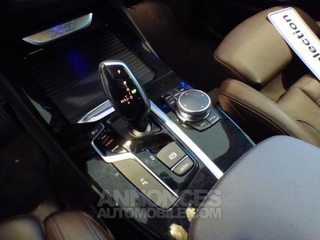 BMW X3 sDrive18dA 150ch xLine Euro6c GLACIER SILBER Occasion - 19