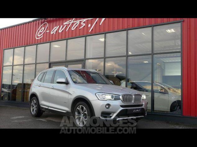 BMW X3 sDrive18dA 150ch xLine Start Edition GRIS CLAIR Occasion - 0
