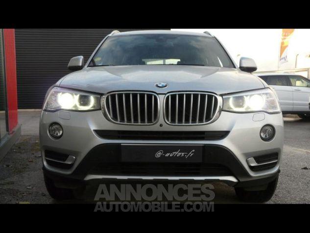 BMW X3 sDrive18dA 150ch xLine Start Edition GRIS CLAIR Occasion - 1