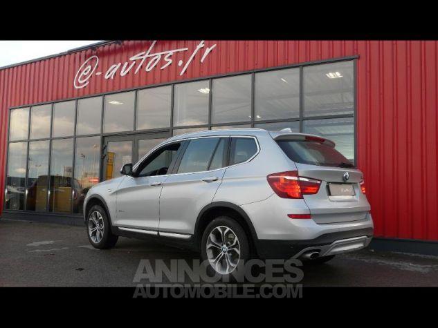 BMW X3 sDrive18dA 150ch xLine Start Edition GRIS CLAIR Occasion - 2