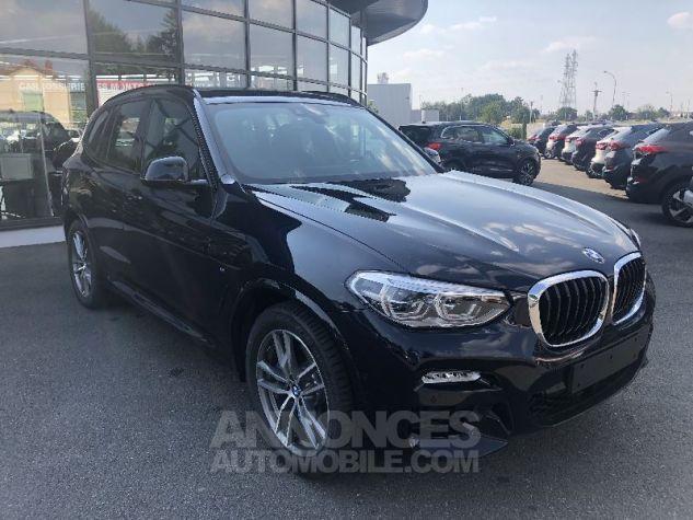 BMW X3 X-DRIVE 30 DA M-SPORT NOIR CARBONE Neuf - 0
