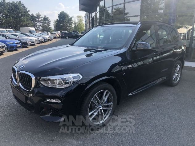 BMW X3 X-DRIVE 30 DA M-SPORT NOIR CARBONE Neuf - 2