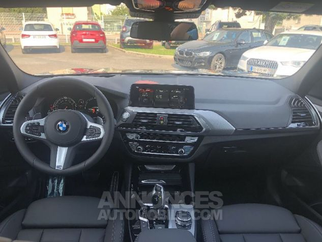 BMW X3 X-DRIVE 30 DA M-SPORT NOIR CARBONE Neuf - 11