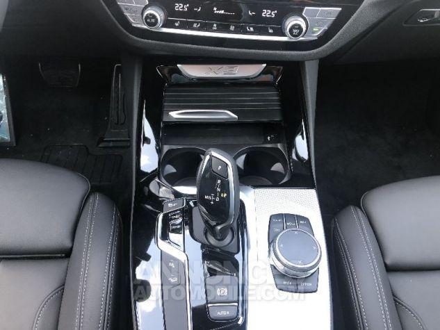 BMW X3 X-DRIVE 30 DA M-SPORT NOIR CARBONE Neuf - 13