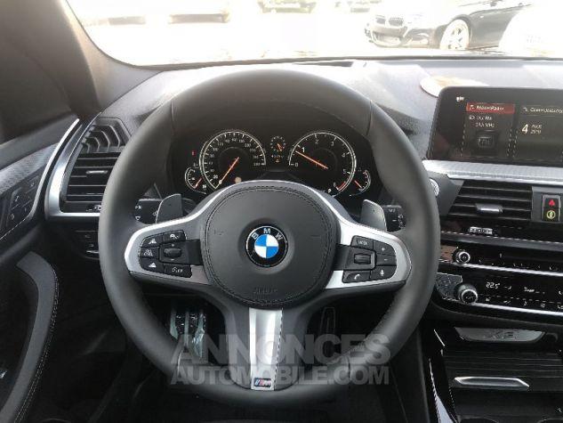 BMW X3 X-DRIVE 30 DA M-SPORT NOIR CARBONE Neuf - 15