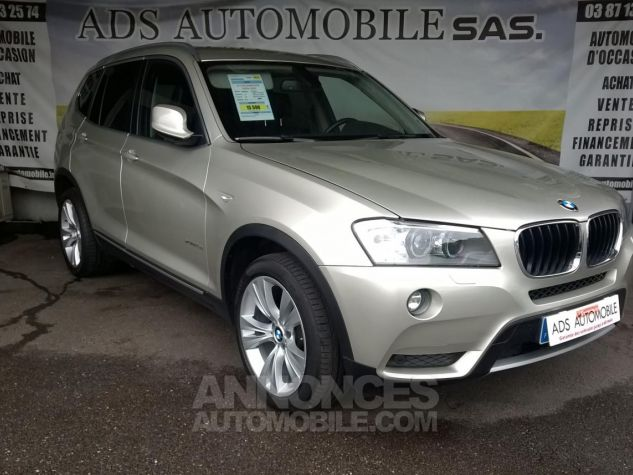 BMW X3 XDRIVE20D 184CH Luxe Gris Occasion - 0