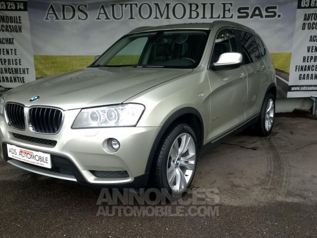BMW X3 XDRIVE20D 184CH Luxe Gris Occasion - 2