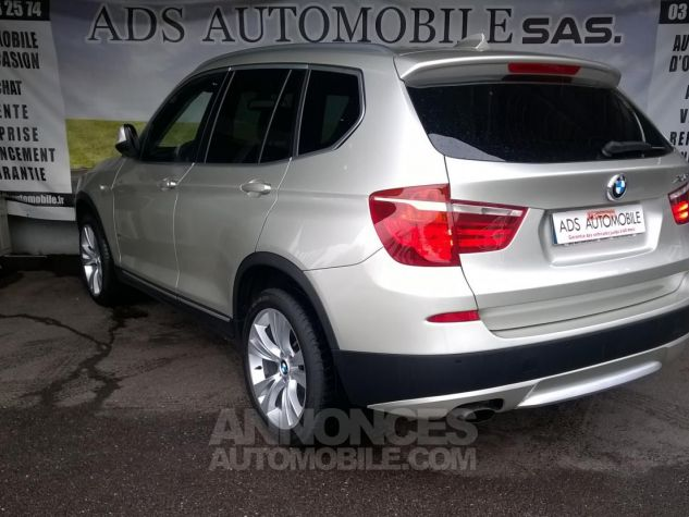 BMW X3 XDRIVE20D 184CH Luxe Gris Occasion - 3