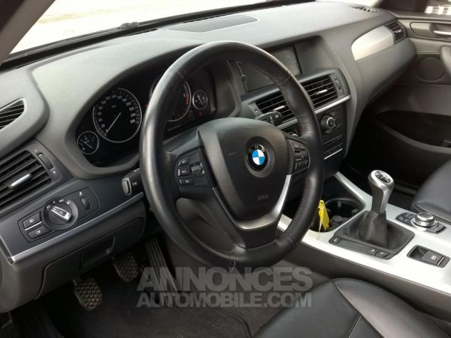 BMW X3 XDRIVE20D 184CH Luxe Gris Occasion - 8