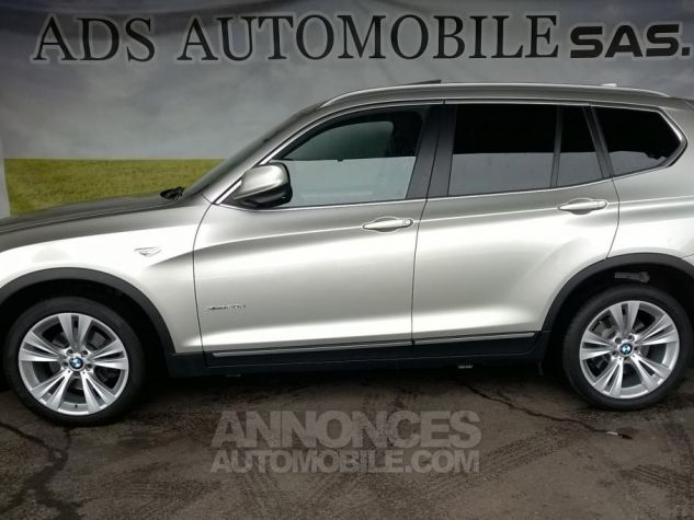 BMW X3 XDRIVE20D 184CH Luxe Gris Occasion - 9