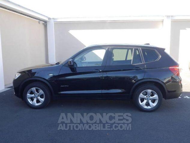 BMW X3 xDrive20dA 190ch Executive Saphirschwarz Occasion - 2