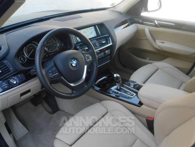 BMW X3 xDrive20dA 190ch Executive Saphirschwarz Occasion - 3