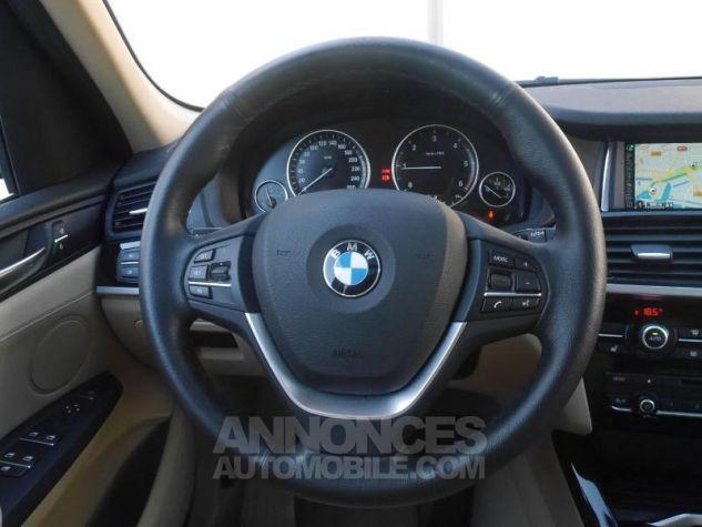 BMW X3 xDrive20dA 190ch Executive Saphirschwarz Occasion - 4