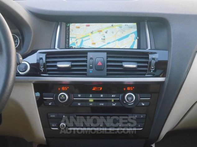 BMW X3 xDrive20dA 190ch Executive Saphirschwarz Occasion - 5