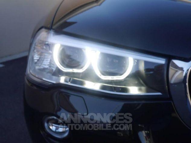 BMW X3 xDrive20dA 190ch Executive Saphirschwarz Occasion - 9